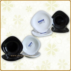 Сервиз Luminarc CARINE white&black 19 пр. D2381
