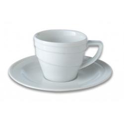 Чашка для кофе с блюдцем 0,1 л. Фарфор Hotel BergHOFF 1690193